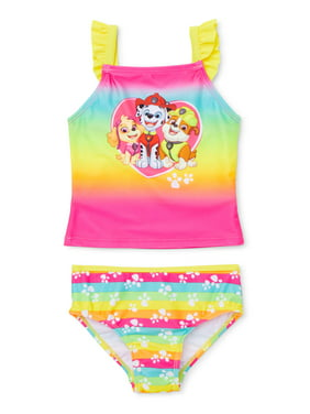 Paw Patrol Baby Toddler Girl Tankini Swimsuit
