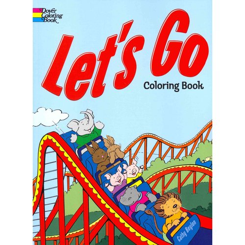 Let's Go Coloring Book
