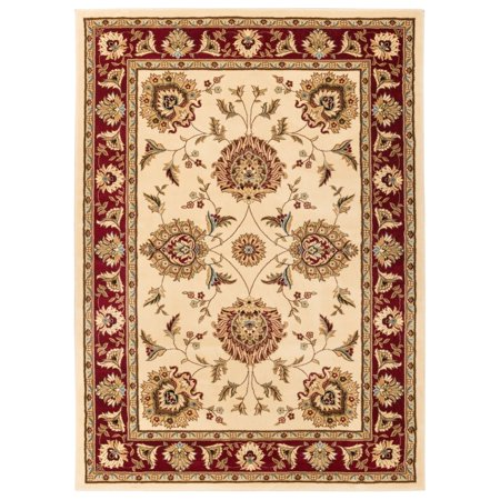 Well Woven Vanguard Oriental Border Formal Traditional Area Rug  311 X 53  Ivory