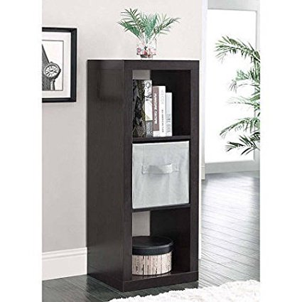 Versatile 3-Cube Organizer, Multiple Colors (Espresso) By Better Homes and Gardens