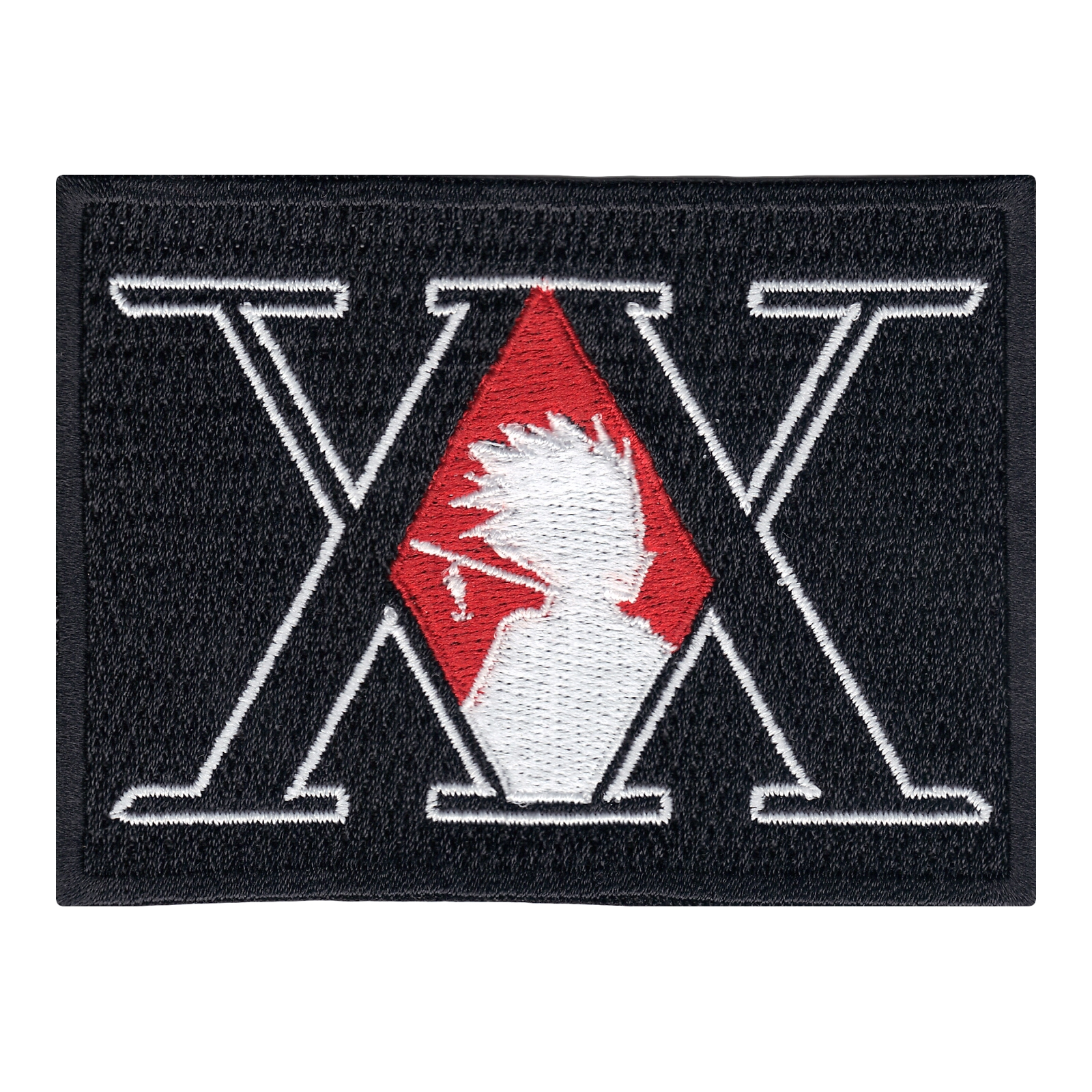 Anime X Hunter Logo Iron On Patch