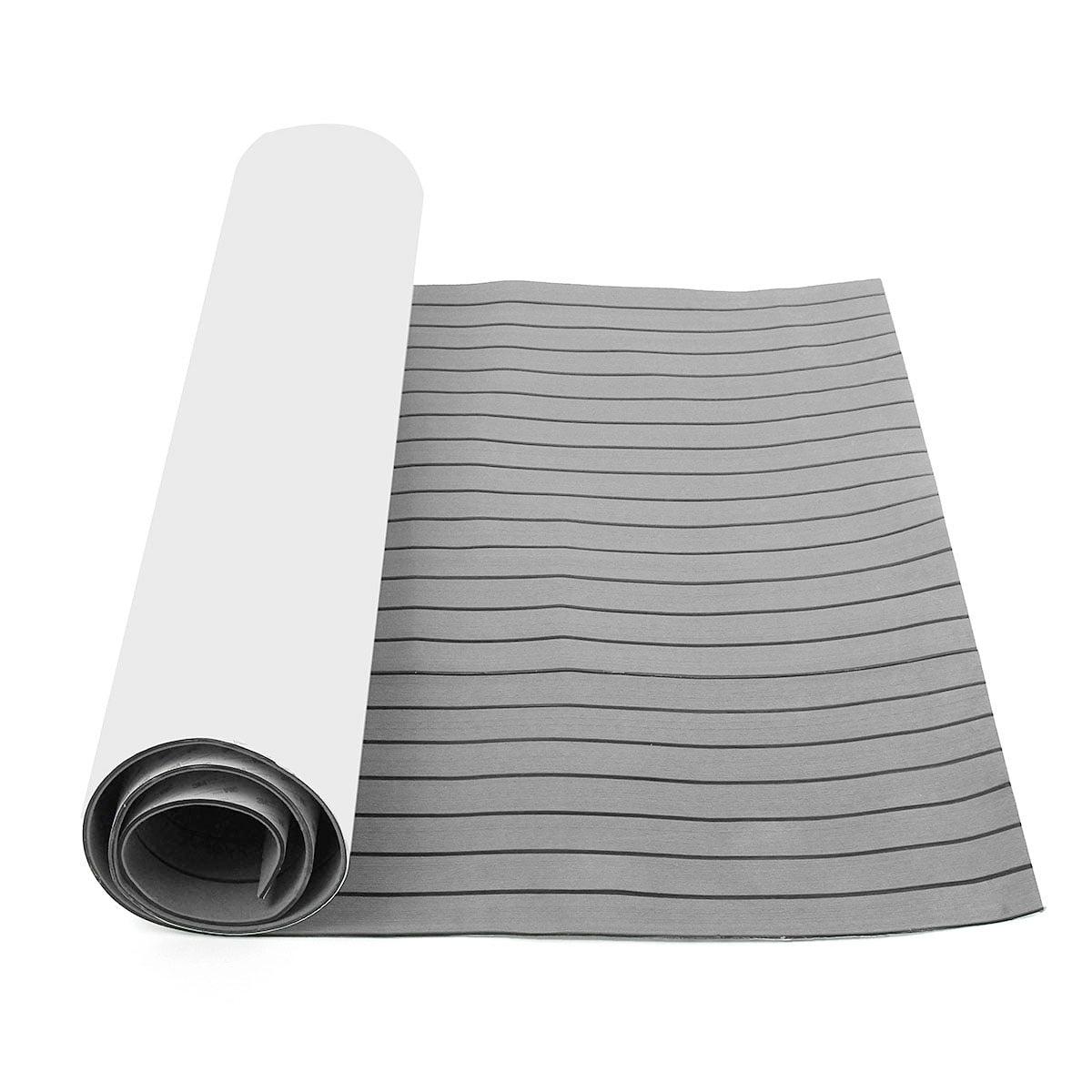 118/'/'x35/'/' 6MM EVA Yacht Boat Flooring Mat Synthetic Teak Foam Decking Sheet Pad