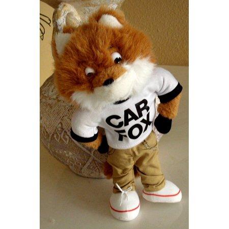 Show Me The Car Fox Plush 10 Inches Tall The Car Fox Stands 10