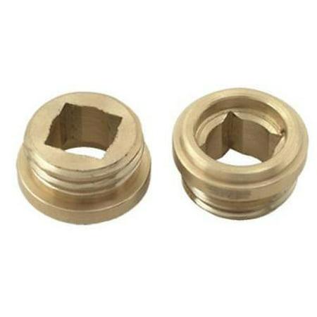 "2PK 1/2"" x 20 Thread Bibb Faucet Seat For Arrowhead Brass Faucets"