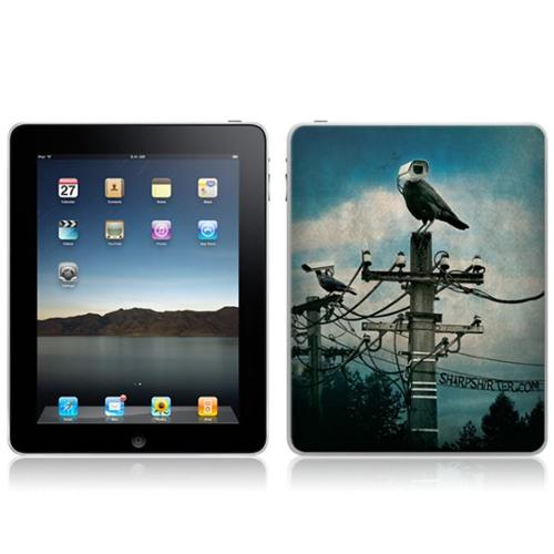 Zing Revolution MS-SHRP30051 iPad- Wi-Fi-Wi-Fi + 3G- Sharp Shirter- Hawkeye Skin