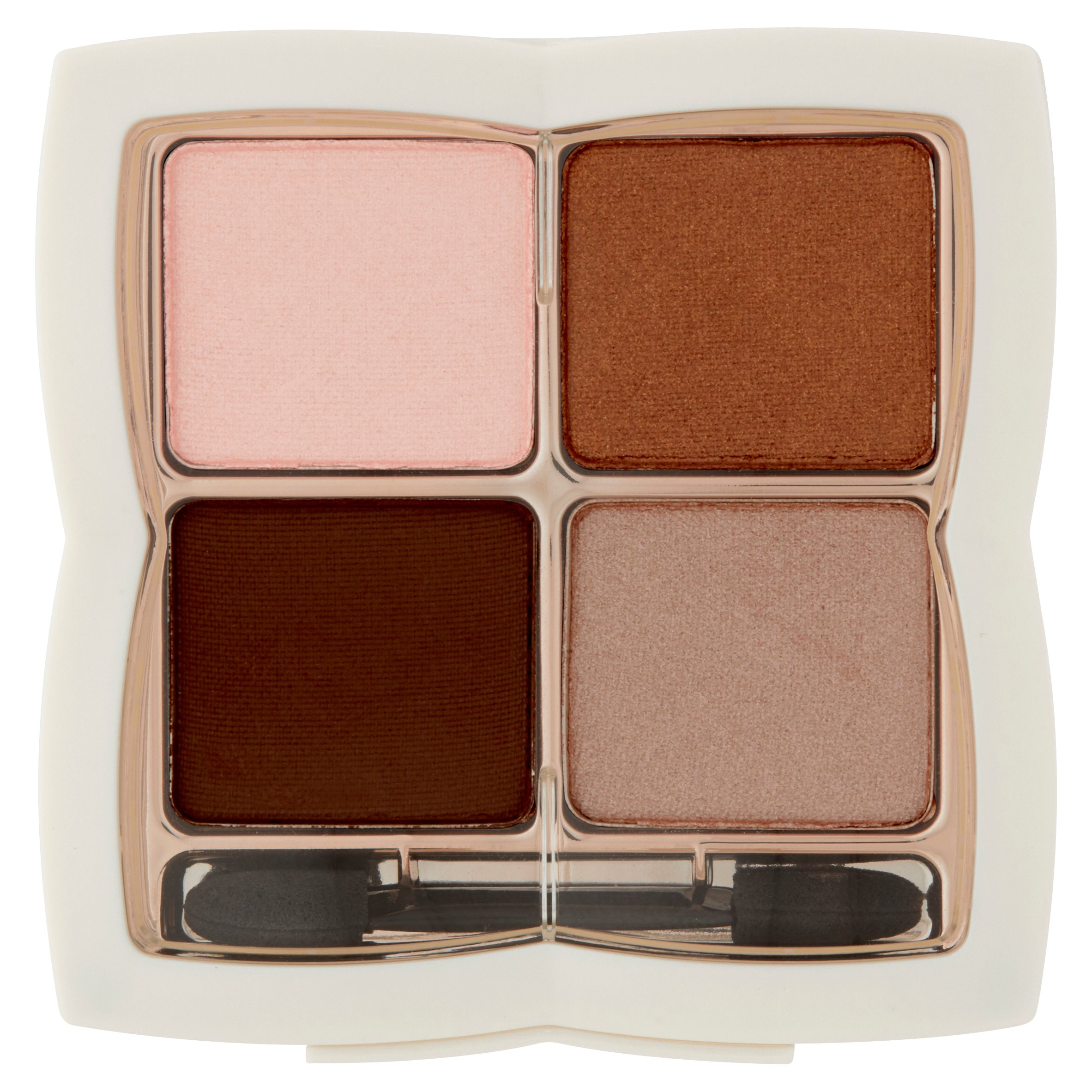 FLOWER Shadow Play Eye Shadow Quad, Foxy Browns