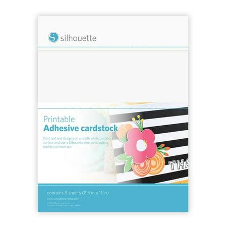 Printable Adhesive Cardstock ()