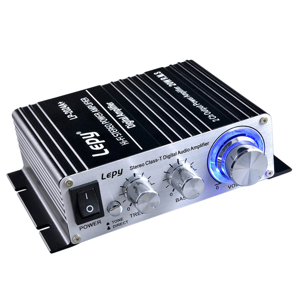 Lepy Lp 2024a Hi Fi Audio Amplifier Stereo Power Car Amplifiers From Class A To T With Supply 3a 20w X 2 Rms Blackus Plug