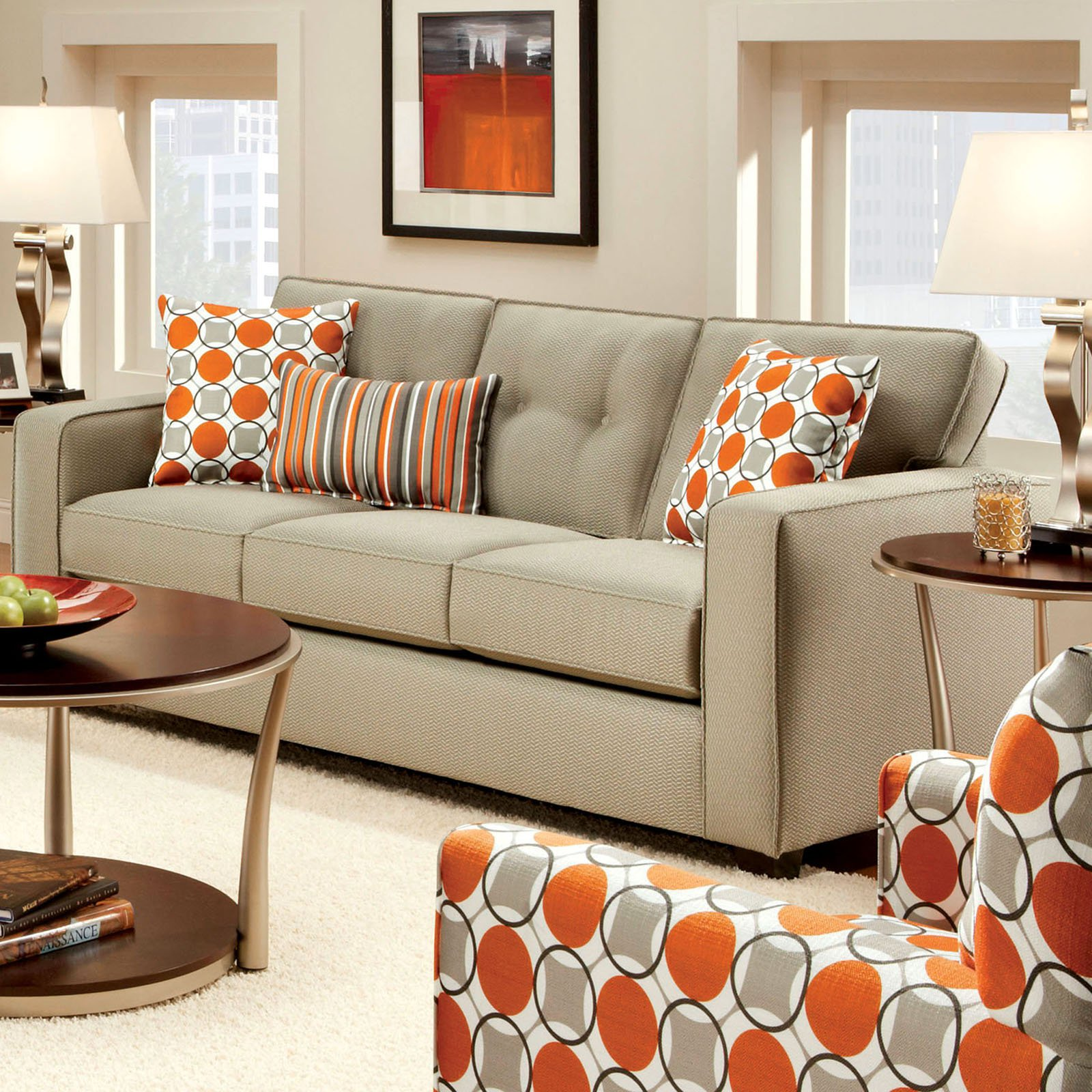 Furniture of America Mahurin Sofa