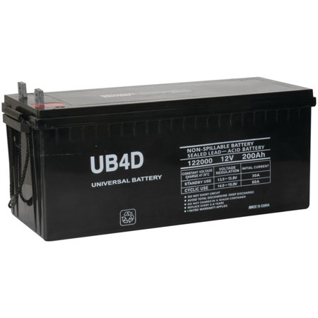 12V 200Ah 4D SLA AGM Battery Replacement for Solar - 4d Marine Battery
