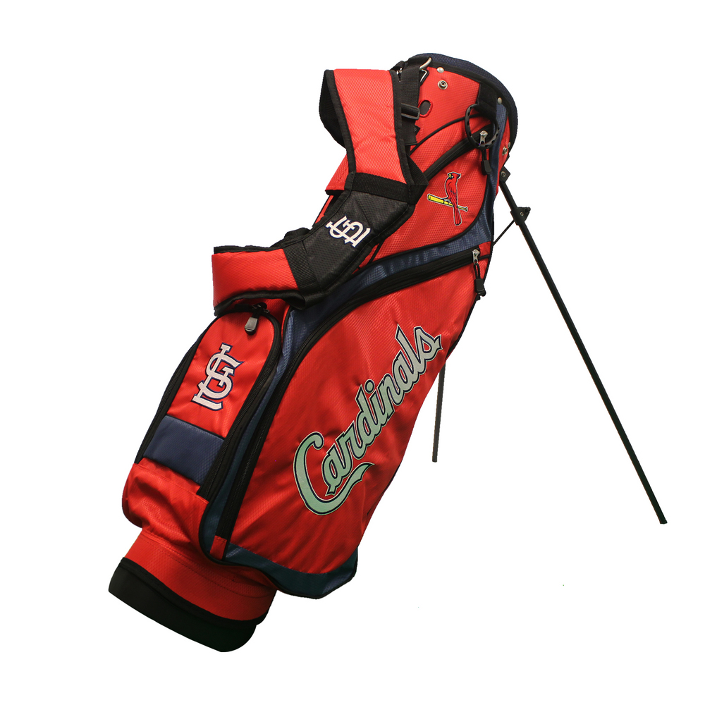 St. Louis Cardinals Official MLB Nassau Golf Stand Bag by...
