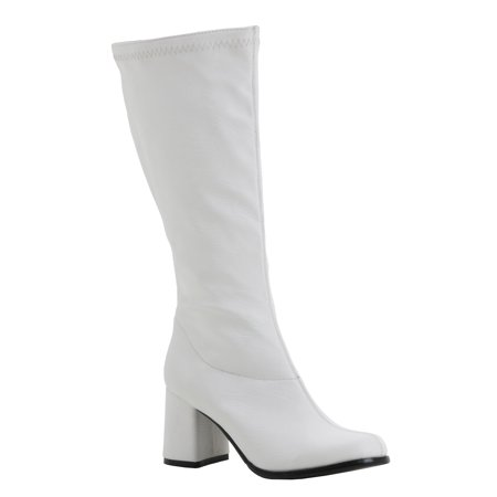 Deluxe Faux Leather Gogo Boots](Gogo Platform Boots)