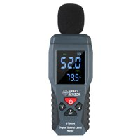SMART SENSOR Mini Digital Sound Level Meter LCD Display Noise Meter Noise Measuring Instrument Decibel Tester 30-130dBA ST9604