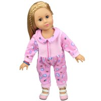 Siaonvr DIY Doll Clothes Dress For 18 inch Doll Baby Kids Gifts Jumpsuit Party Clothes