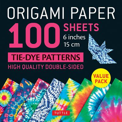 Origami Paper 100 sheets Tie-Dye Patterns 6