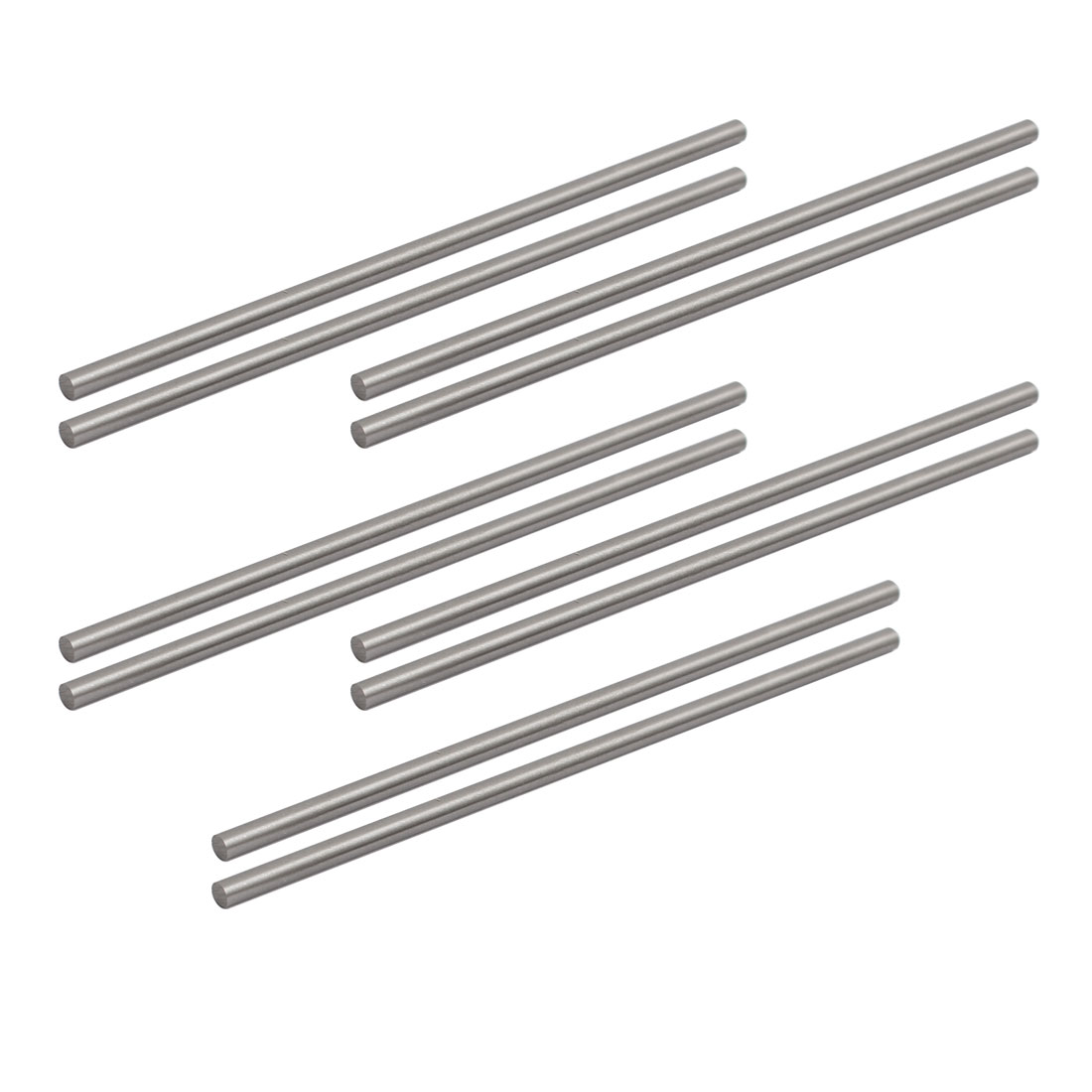 Unique Bargains 3mm Diameter 100mm Long HSS Round Turning Lathe Carbide Bars 10pcs