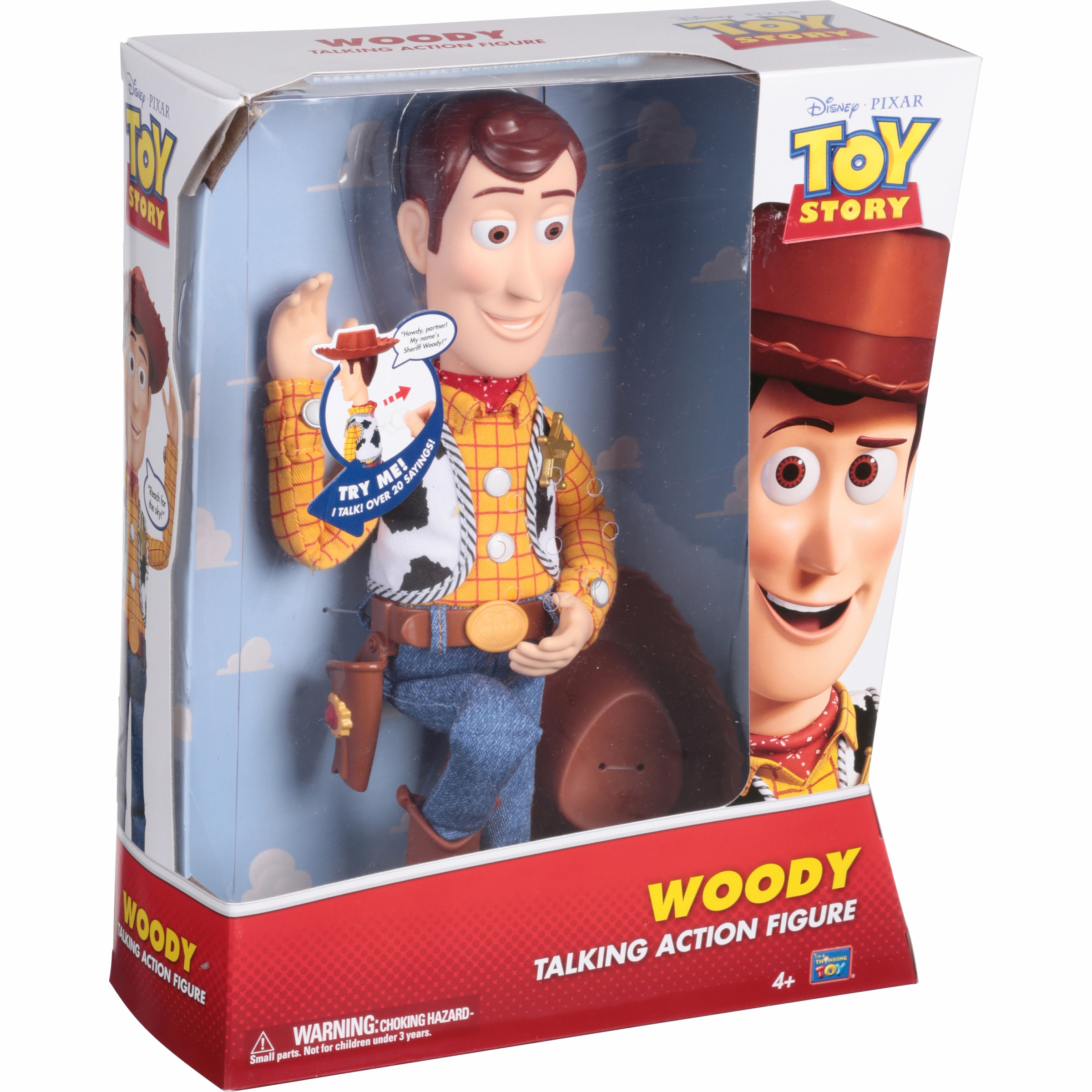 Toy Story Talking Woody Action Figure by Thinkway Toys