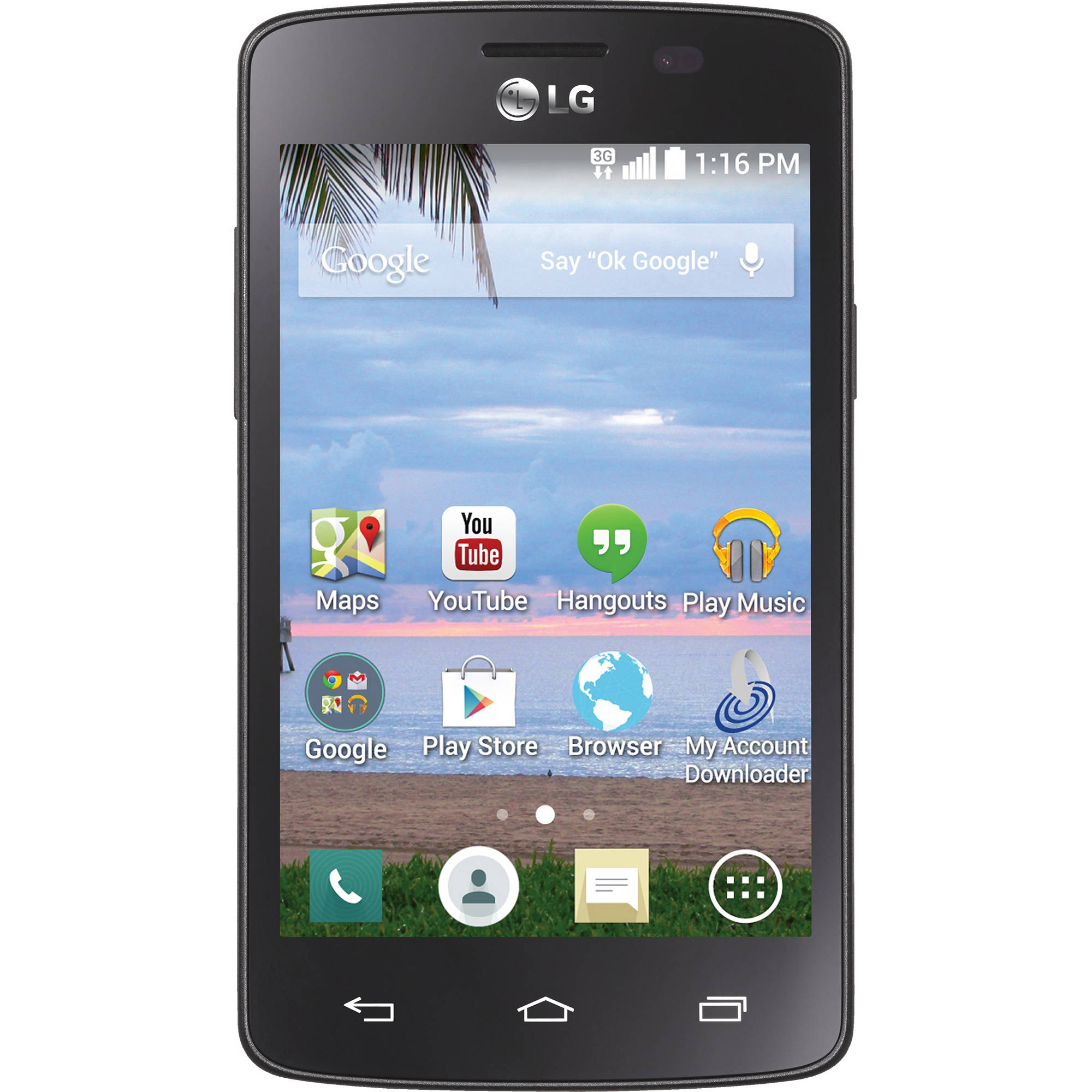TracFone LG Lucky Android Prepaid Smartphone
