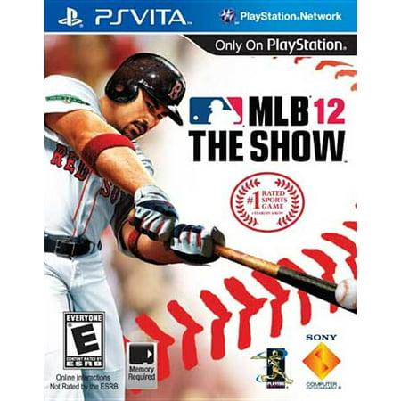 MLB 12: The Show (PS Vita) (Ps Vita Sports And Racing Mega Pack)