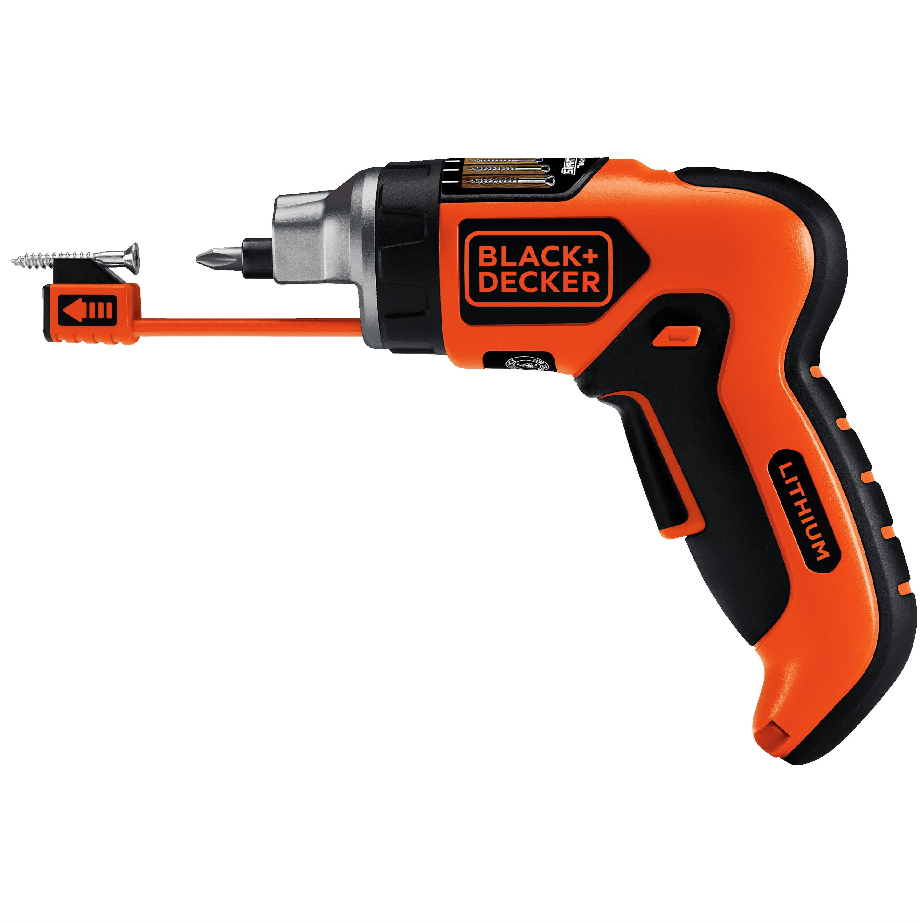 BLACK+DECKERâ ¢ LI4000 4V MAX* Lithium SmartDriverâ ¢ Cordless Screwdriver