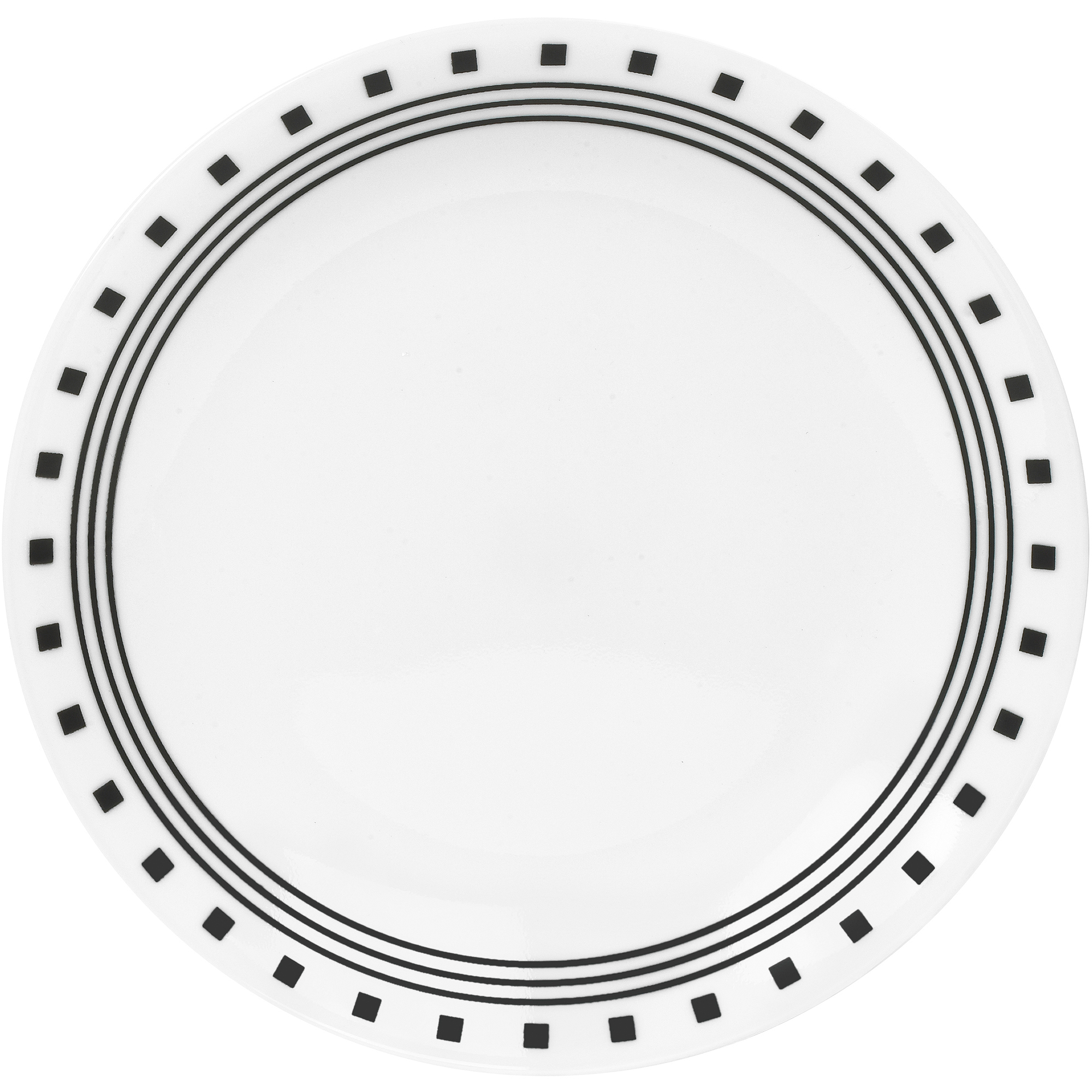 Corelle Livingware Lunch Plates, City Block, Set of 6