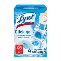 Toilet Cleaner: Lysol Click Gel