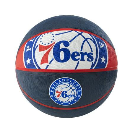 Philadelphia 76ers Logo Wall - Spalding NBA Philadelphia 76ers Team Logo