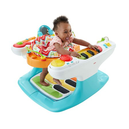 Fisher-Price 4-in-1 Step 'n Play Piano with Lights &