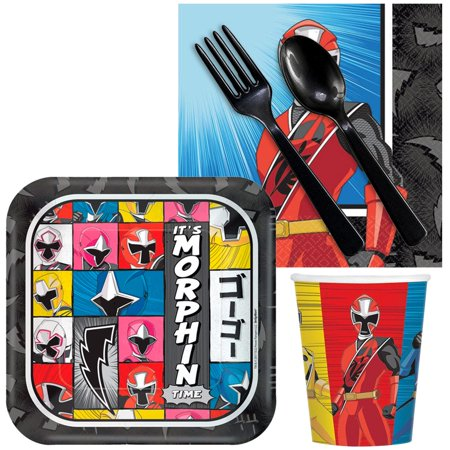 Power Rangers Ninja Steel Snack Pack For 16 (Power Rangers Birthday Theme)