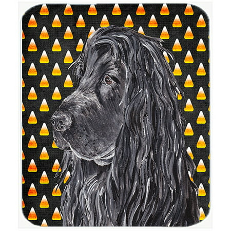 Caroline's Treasures Halloween Candy Corn English Cocker Spaniel Glass Cutting Board (Broken Glass Candy Halloween)