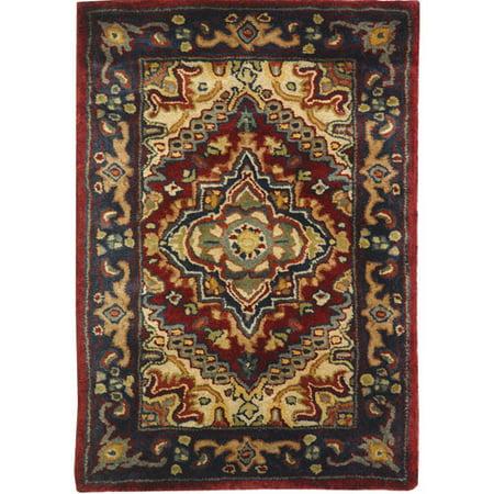 Safavieh Classic Bertina Tufted Wool Area Rug, Assorted/Red