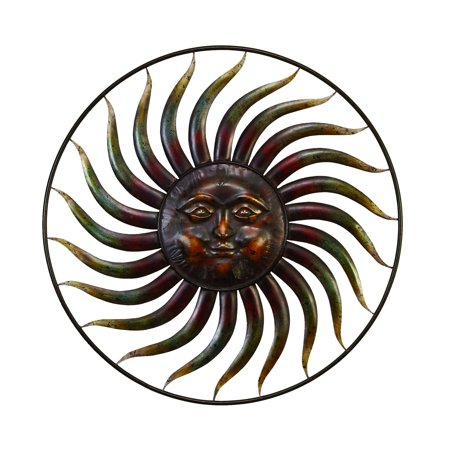 37 Inch Diameter Metal Wall Decor For Decor