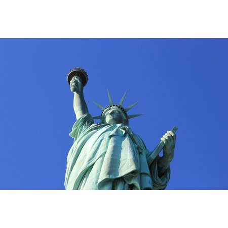 LAMINATED POSTER Statue Of Liberty New York America Torch Landmark Poster Print 24 x - Statue Of Liberty Torch