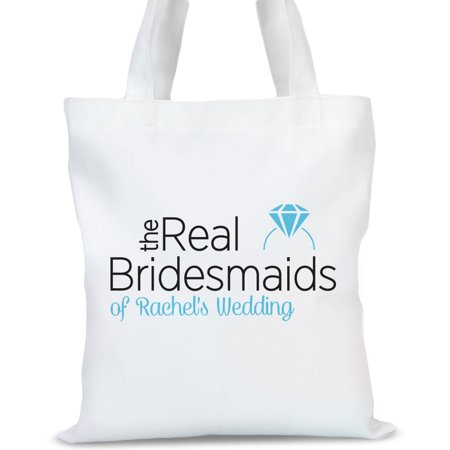 The Real Bridesmaids Personalized Tote Bag, Sizes 11