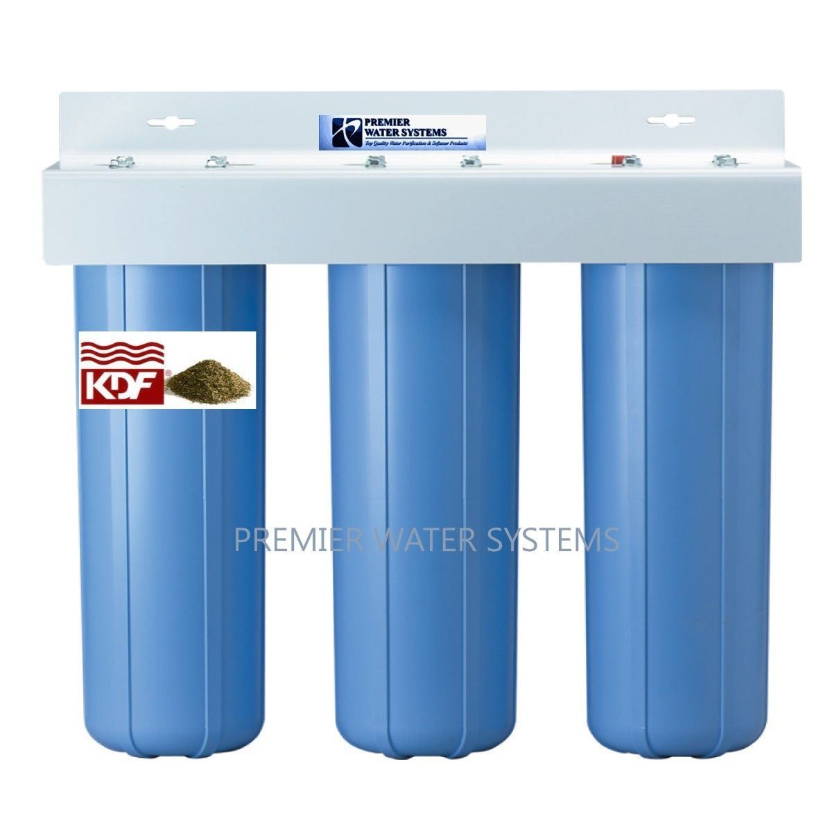 TRIPLE BIG BLUE 20\'\' WATER FILTER SYSTEM 1\