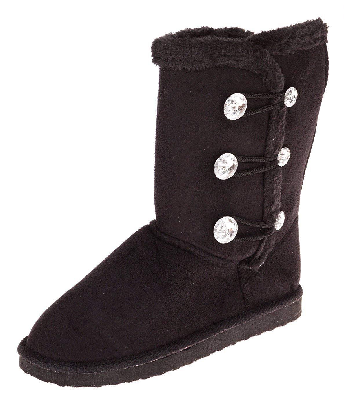 Chatties Girls 6 Inch Boot with Rhinestones