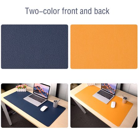 Multifunctional Large Office Desk Pad Non-Slip PU Leather