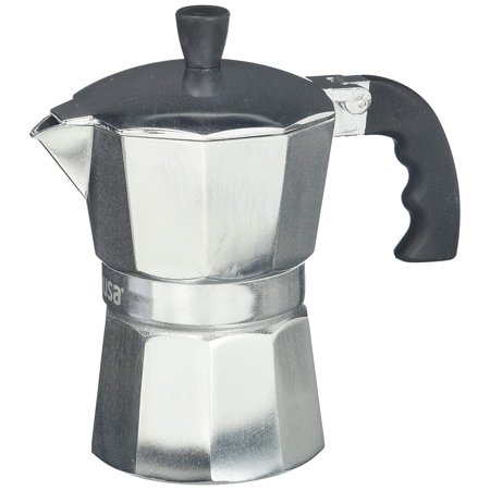 IMUSA USA 6 Cup Cool Touch Handle Espresso Coffee Maker (Clean Coffee Maker)
