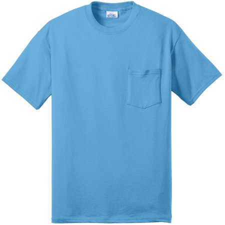 Port & Company Men's Big And Tall Soft Pocket T-Shirt Big And Tall Womens Clothing