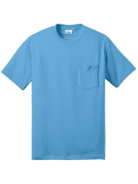 051e6a79bc Product Image Port & Company Men's Big And Tall Soft Pocket T-Shirt