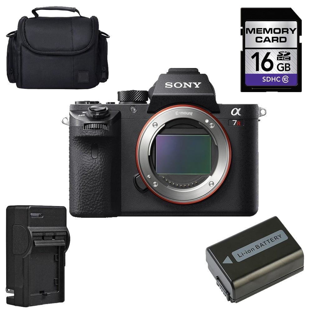 Sony Alpha a7R II Mirrorless Digital Camera (Body Only) Bundle