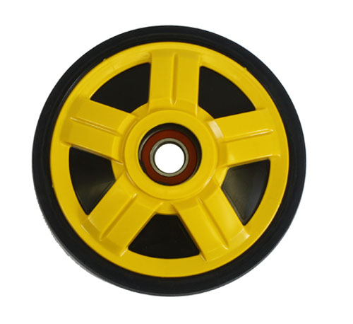 PPD Yellow Idler Wheel 141MM O.D. X 25MM ID for BOMBARDIER/SKI-DOO All models GSX/GTX 2006-2008