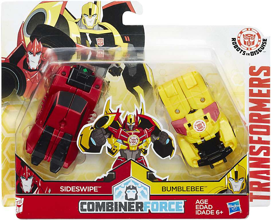 Transformers: Robots in Disguise Combiner Force Crash Combiner Beeside by Hasbro