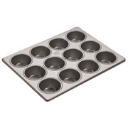 Focus Foodservice - 905045 - (12) 2 3/4 in Muffin Pan