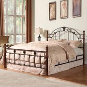INSPIRE Q Newcastle Graceful Scroll Bronze Iron King-sized Poster Bed by  Classic