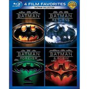 4 Film Favorites: Batman Collection Batman   Batman Returns   Batman Forever   Batman & Robin (Blu-ray) (Widescreen) by