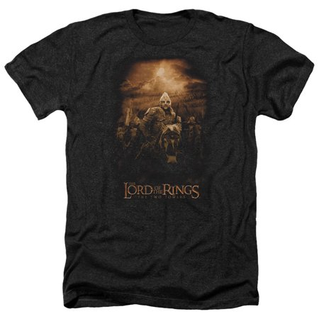 The Lord Of The Rings Riders Of Rohan Eomer Adult Heather T-Shirt Tee (Lord Of The Rings Adult Onesie)