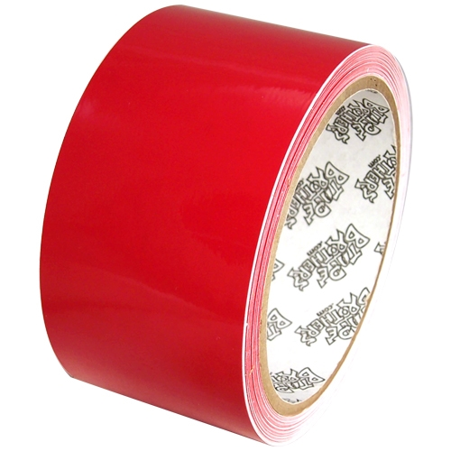 """Tape Planet 3 mil 2"""" x 10 yard Roll Red Outdoor Vinyl Tape"""