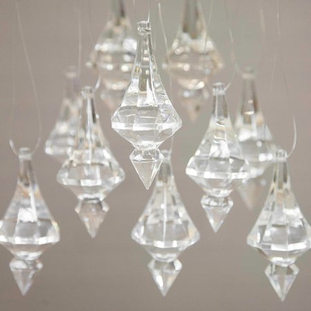 Event decor acrylic chandelier drops crystal cut pendant ornaments event decor acrylic chandelier drops crystal cut pendant ornaments 1lb bag aloadofball Images