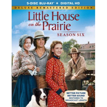 Little House On The Prairie  The Complete Sixth Season  Deluxe Remastered Edition   Blu Ray   Digital Hd   Full Frame